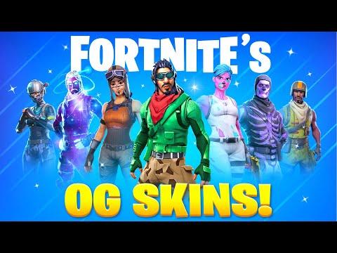 25 Fortnite Skins ONLY OG's Own