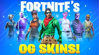 25 Fortnite Skins ONLY OG's Own