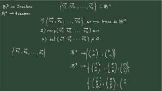 8. Base de un espacio vectorial.