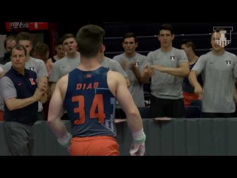 Illinois Men's Gymnastics vs Ohio State Highlights 3/24/17
