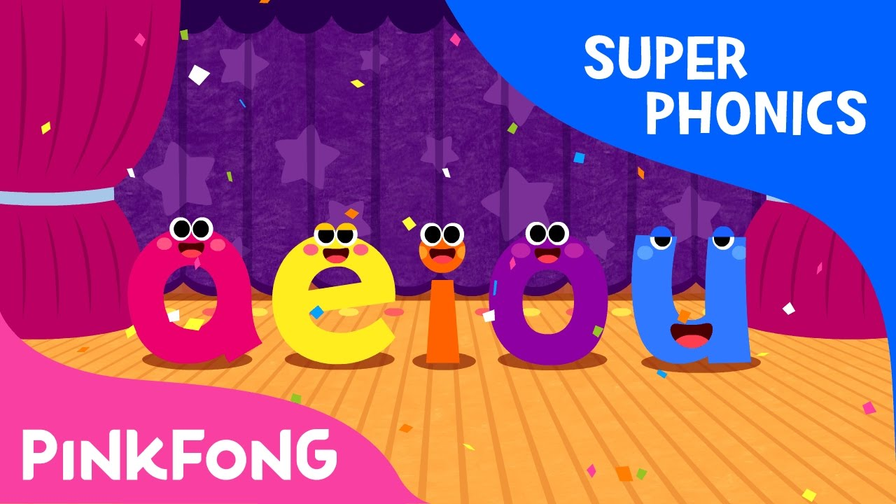 Download The Vowel Family | Super Phonics | Pinkfong Songs for Children