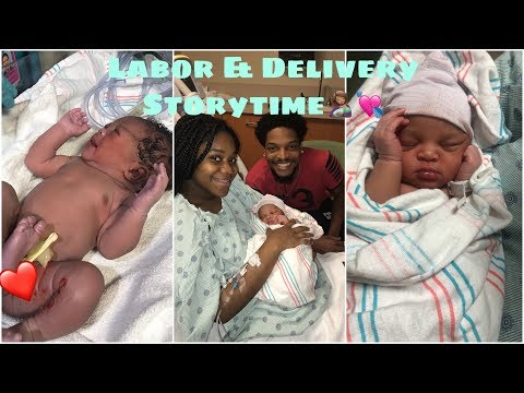 LABOR & DELIVERY STORYTIME/VLOG🤱🏽👨‍👩‍👧 | TEEN MOM