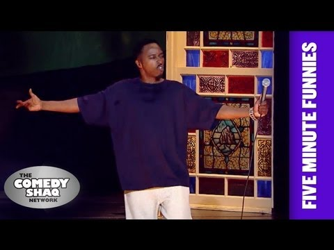 Eddie Griffin⎢The Black Celebrity Hit List⎢Shaq's Five Minute Funnies⎢Comedy Shaq