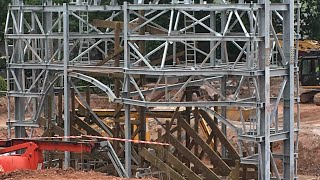 Alton Towers SW8 Construction Update - 22nd June 2017