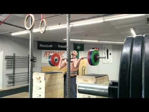 Willie McLendon 142kg Jerk