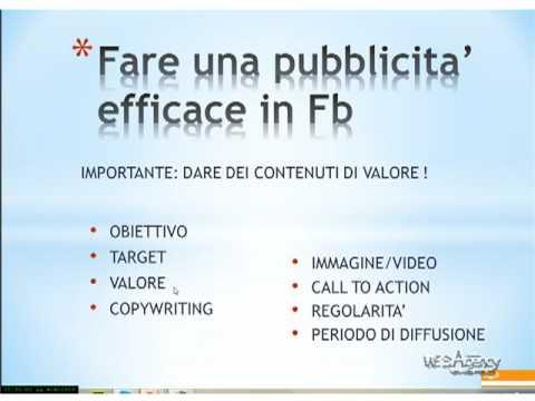 Gli strumenti per un Facebook efficace