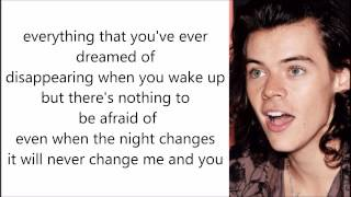 Night Changes - One Direction (Lyrics and Pictures)
