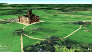 Where is Downton Abbey Highclere Castle?