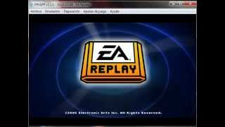 EA Replay - Sony PlayStation Portable (PSP) - emulador PPSSPP 1.1.1 - testeado en Windows 7 x64
