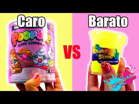 Slime kit Caro VS Barato (Sin pegamento, borax y con 1 ingrediente) - Supermanualidades