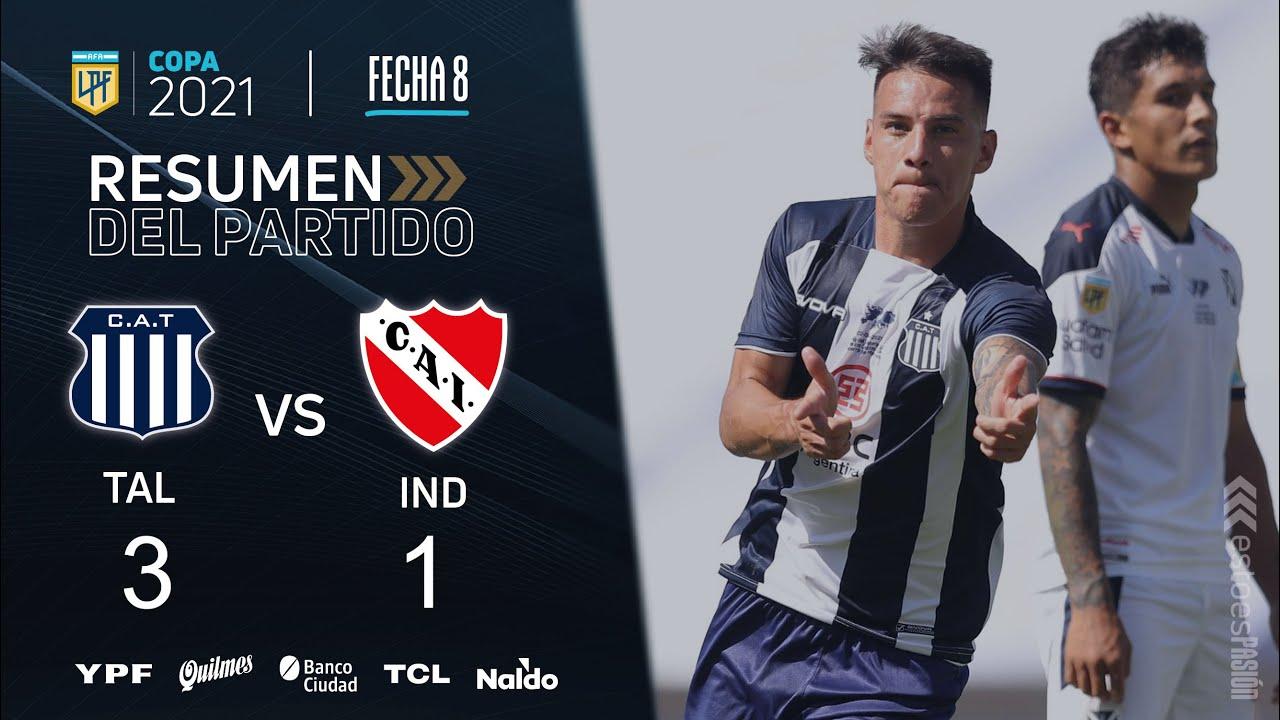 Copa de la Liga   Fecha 8   resumen de Talleres - Independiente