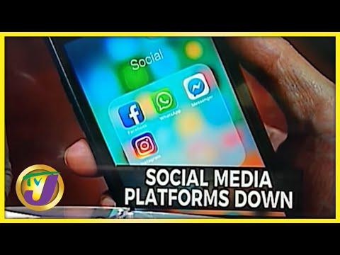 Whatsapp, Facebook. Instagram Down | TVJ News - Oct 4 2021
