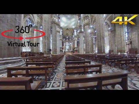 Milan Cathedral - Duomo di Milano - Italy - 360° Camera - Video 4K - Virtual Reality