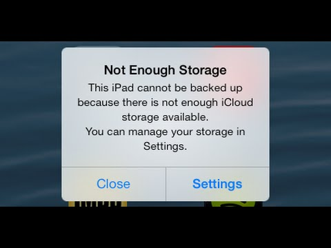 How To Fix Not Enough Storage On Icloud Iphone