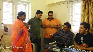 "Singing Sensation ""baby"" Practicing ""O Cheliya"" song with Bol Baby team"