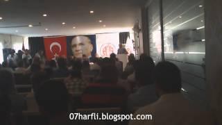 Antalyaspor Genel Kurulu 14 06 2013 Gültekin Gencer