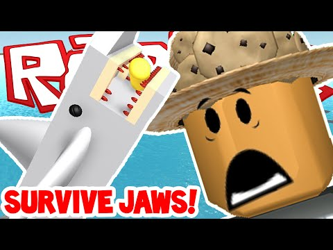 Roblox | SURVIVE SHARK ATTACK! - JAWS IS...