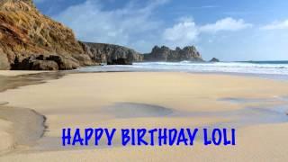 Loli   Beaches Playas - Happy Birthday