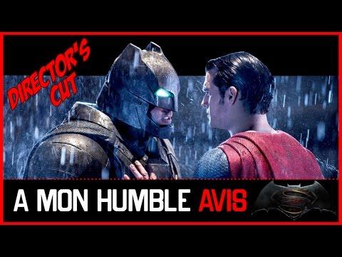 AVIS CRITIQUE - BATMAN V SUPERMAN (Director