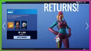 SKULLY SKIN RETURNS! (Season 9) Fortnite Item Shop NOW - Fortnite Battle Royale