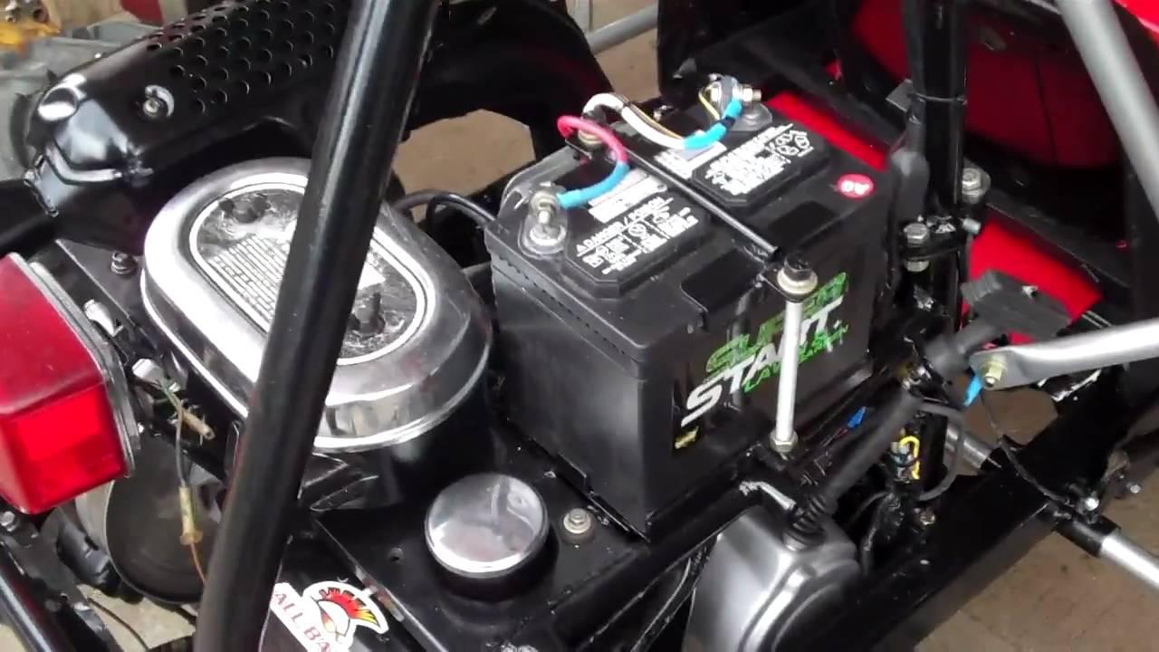 medium resolution of honda odyssey fl250 goki starter charging mods