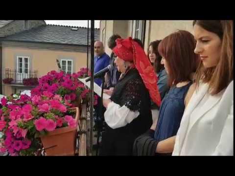 O pregón de Violeta Bernardo inaugura o San Xoán de Sarria