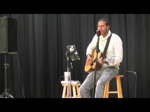 Aquile Performs 'Hallelujah' at Poison Spider Elementary School