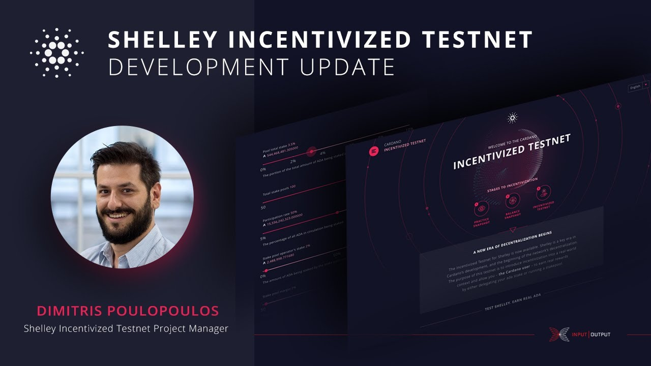 Shelley Incentivized Testnet Development Update 14 February 2020 1
