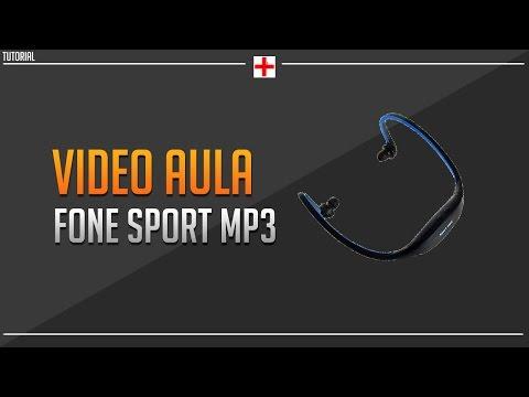 Video aula fone sport mp3 (Video extra)