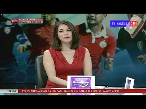 Presenter Olivia Fendry Cantik !, Liga 1 Indonesia 23-Mei-2017