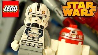 Лего Звёздные Войны 75039 + Мультфильм Анимация. Обзор на русском языке