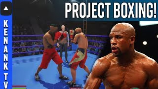 *FOOTAGE*NEW Boxing Video Game BEING MADE! | Project Boxing! | No Fight Night Champion 2 | PS4/PC
