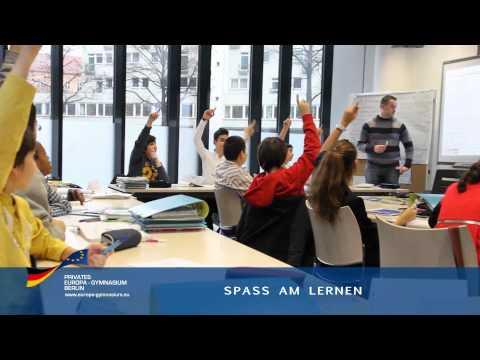 Das Private Europa Gymnasium Berlin stellt sich vor!