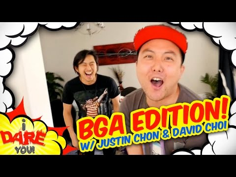 Thumbnail: I Dare You: ULTIMATE WEDGIE! (ft. Justin Chon & David Choi)