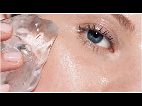 What Happens To Your Skin When You Rub An Ice Cube On Your Face