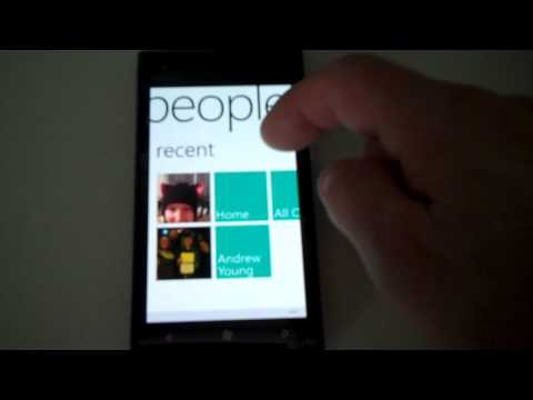 Facebook connection on Nokia Lumia 900