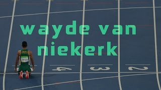 WAYDE VAN NIEKERK//COMING FROM ANOTHER WORLD