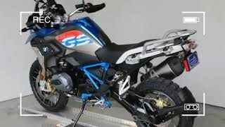 BMW R 1200 GS Rally Premium Lupin Blue  Light Grey Metallic