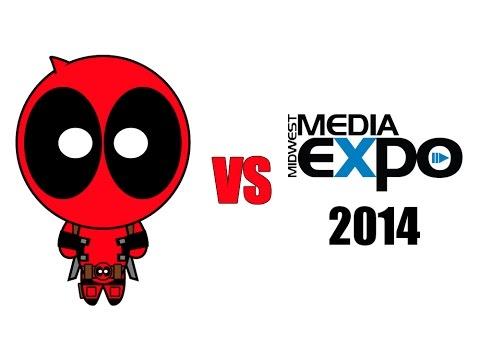 Deadpool vs Midwest Media Expo 2014 - 동영상