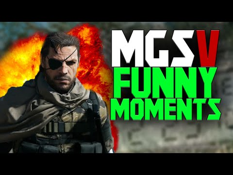 Metal Gear Solid 5: FUNTAGE!!! - (MGS V: The Phantom Pain Funny Moments) |