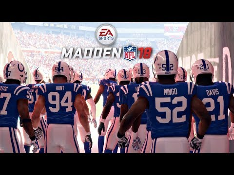 Madden 18 Buccaneers vs Colts Gameplay Full Game (Raymond Ja