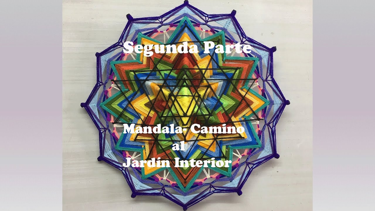 Mandala Camino Al Jardin Interior Segunda Parte Youtube