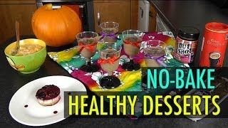 No-Bake Healthy Desserts (Weight Loss Recipes)