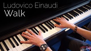 Ludovico Einaudi - Walk - Piano cover [HD]