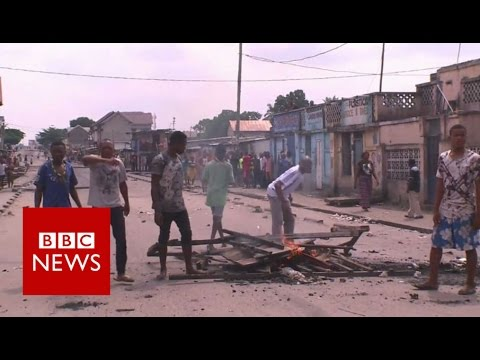 At least 20 killed in Congo protests - BBC News