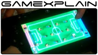 Wii Party U - Playing Foosball on the GamePad (E3 2013 Demo)