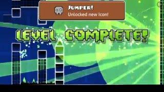 KiddGamerZ - Geometry Dash Jungle - Kid BryBry 11 years old Destroys IT