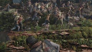 Days Gone E3 2017 Gameplay Walkthrough (2018 Zombie Survival Game)