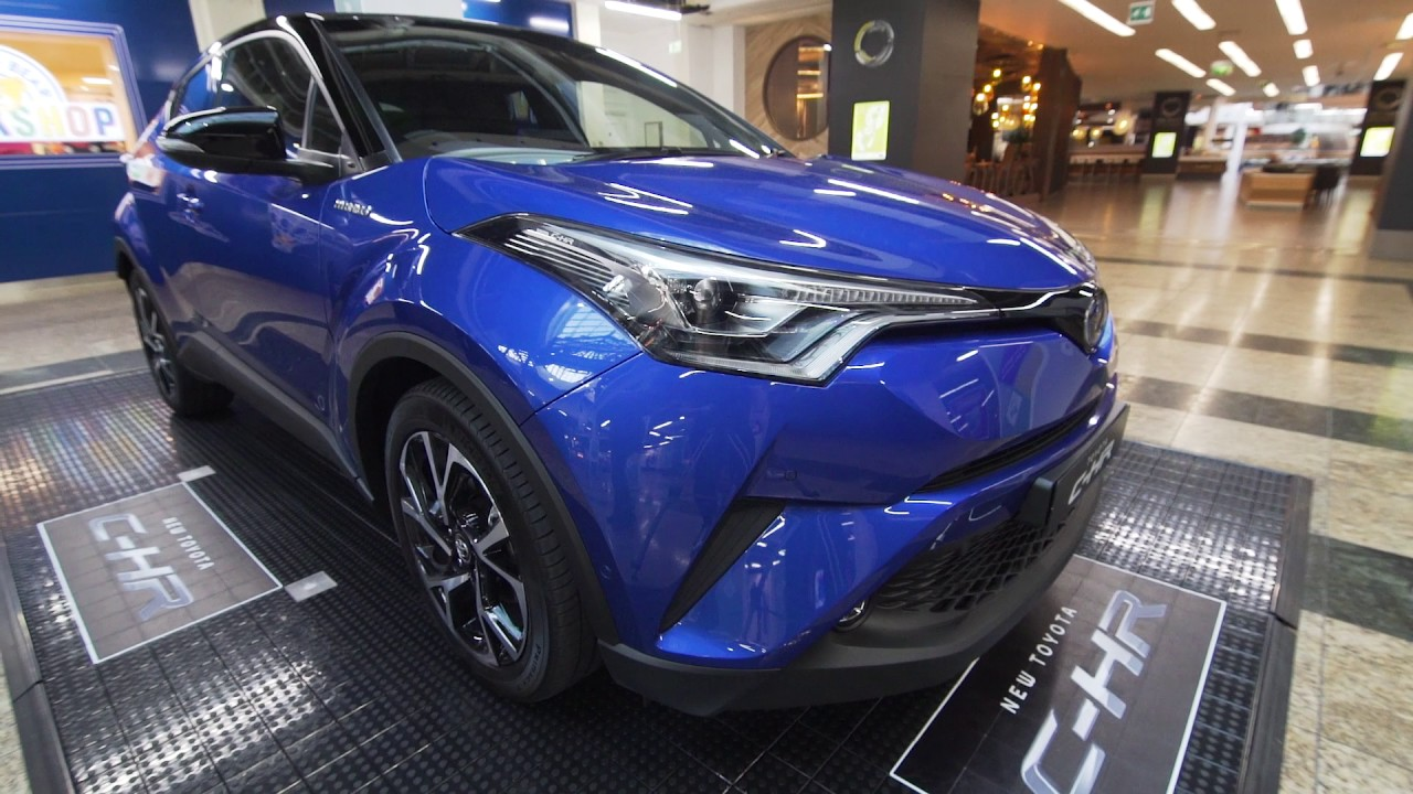 3c2d52b98 BURROWS MOTOR COMPANY - TOYOTA C-HR LAUNCH AT MEADOWHALL - 2016/17 UK -  EXCLUSIVE FIRST LOOK!