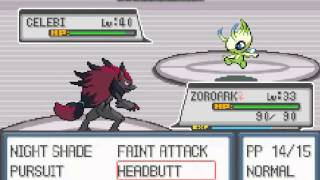 Pokemon Light Platinum - Walkthrough 19 Celebi